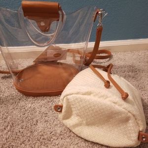 NWT-Tank Leather, Bag-in-Bag*MMS Design Studio